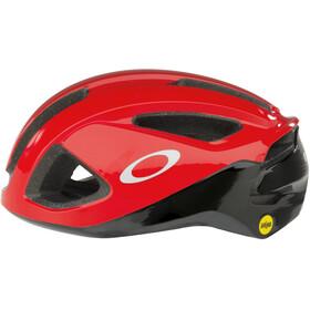 Oakley ARO3 Cykelhjälm röd/svart